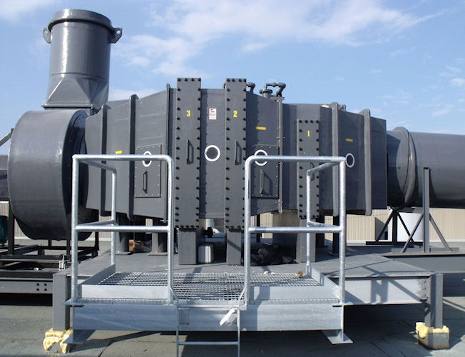 Industrial Ventilation Hoods : Industrial ventilation systems